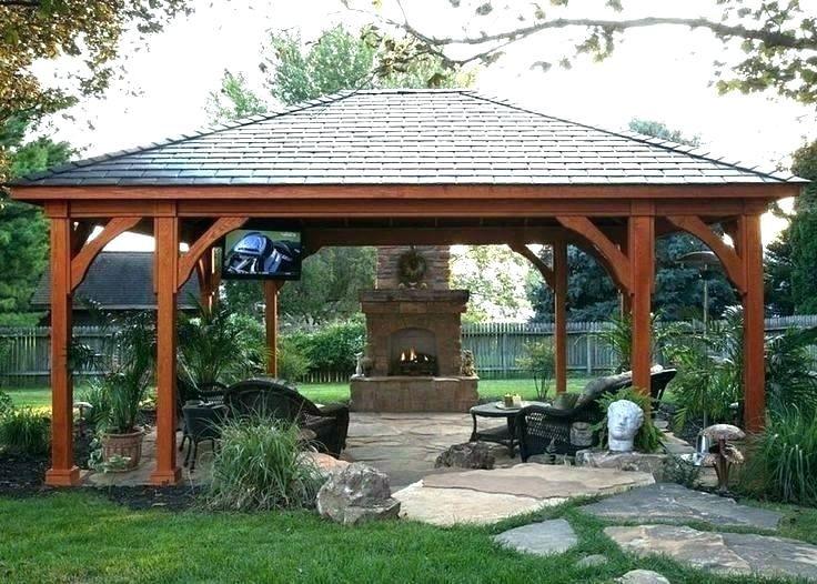 20 Gorgeous Backyard Pavilion Ideas Backyard Pavilion Backyard Gazebo Outdoor Pavilion