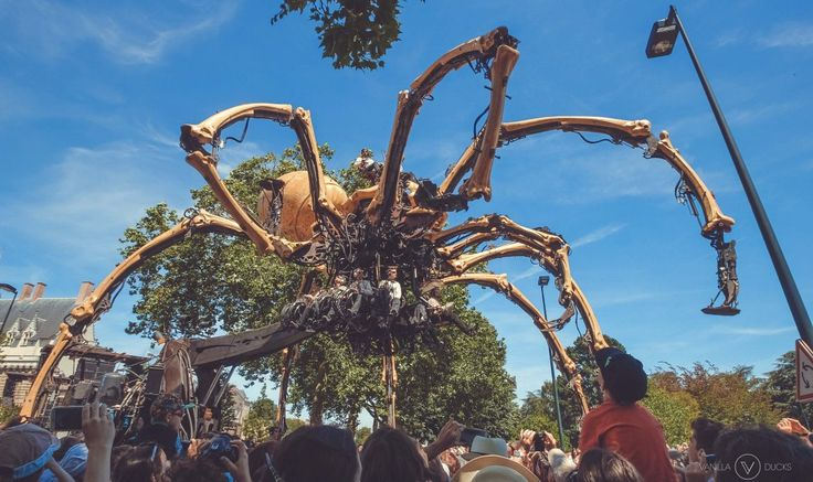 Giant Spider Kumo in Nantes, France