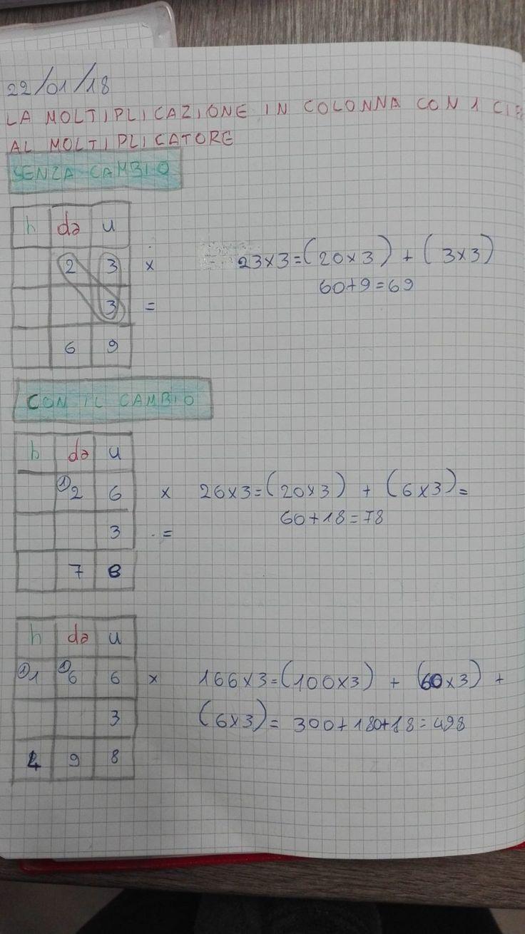 Moltiplicazioni in colonna-Carnevale- Matematica in Terza ...