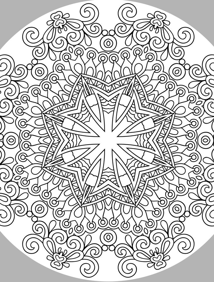 stressreducingcoloringforadults Zentangles Adult
