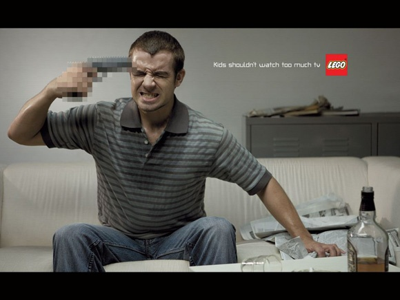 Lego Kids shouldnt watch too much TV
