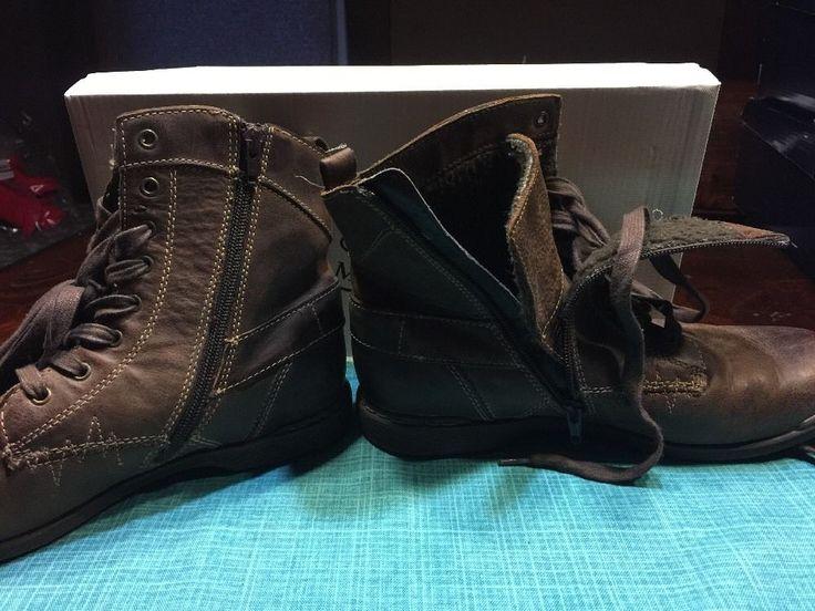 Steve Madden Leather Medium (D, M) Width Ankle Boots for Men
