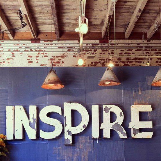 Something to inspire you this afternoon...!