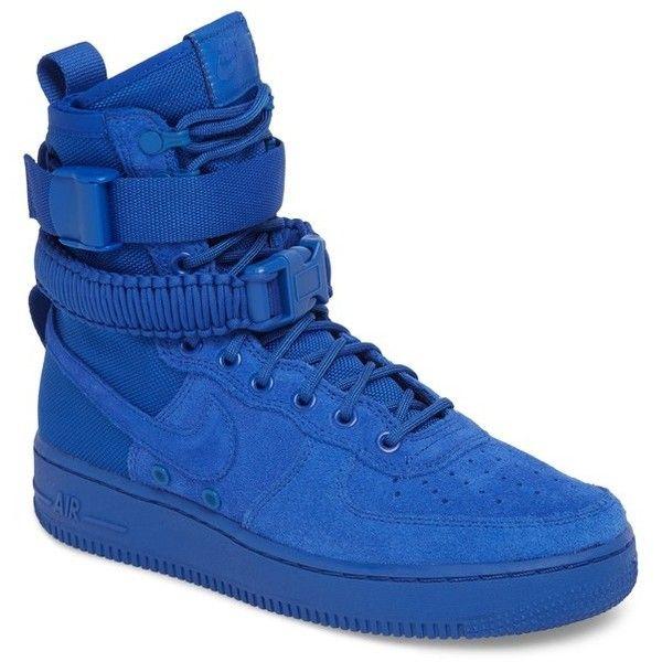 Men's Nike Sf Air Force 1 High Top Sneaker ($180) ❤ liked ...