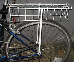 Make a Rear Bike Rack from Scavenged Kitchen Materials