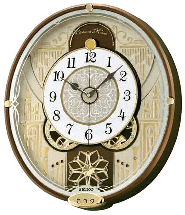 clocks melodies motion musical wall clock seiko in uk prices india for sale