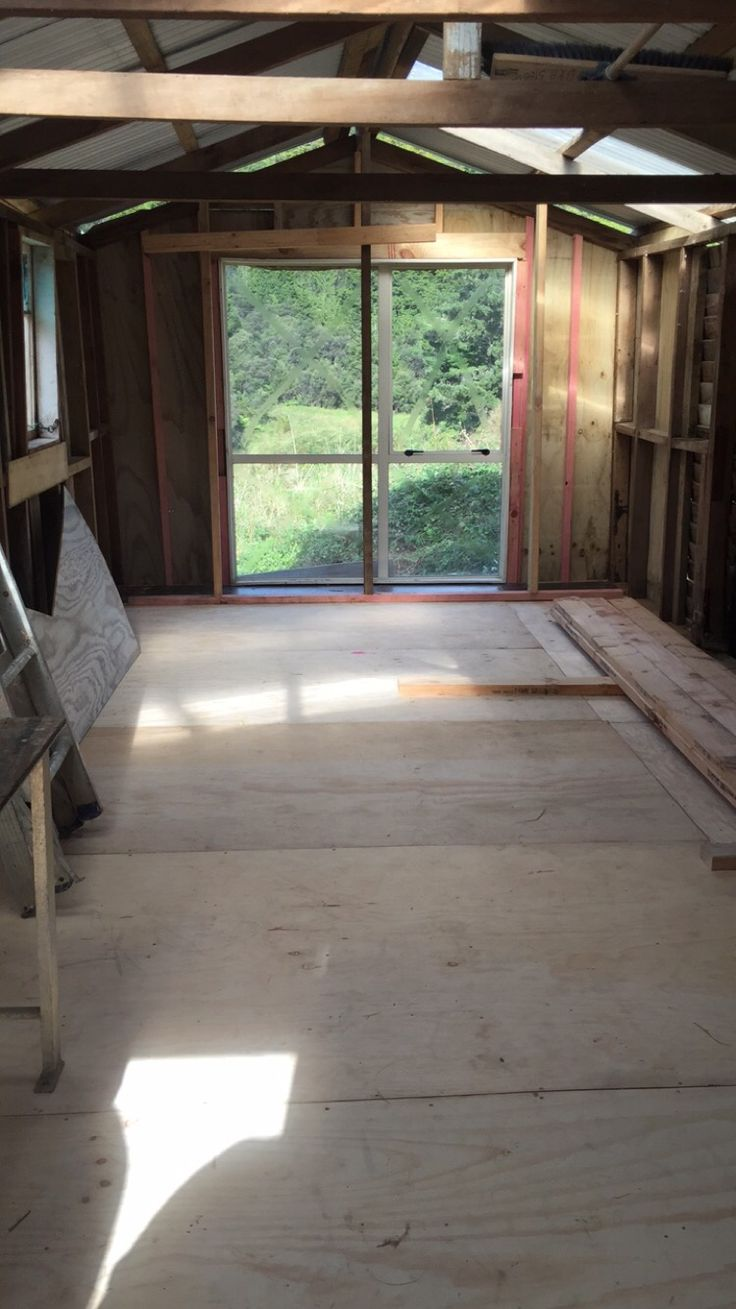 We made so much progress that Easter Weekend we completed the floor and installed our first window. It was very satisfying. Most importantly it was so good to be doing it all with our whanau.