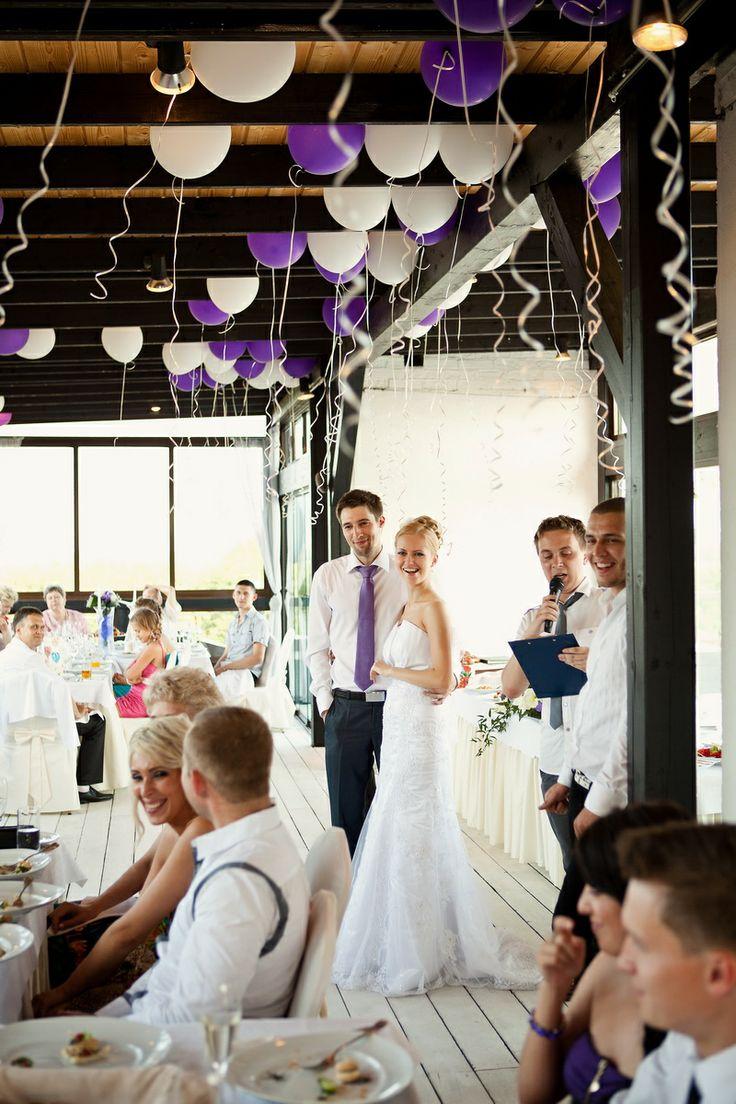 Свадебный банкет в зоне Roof-lounge.