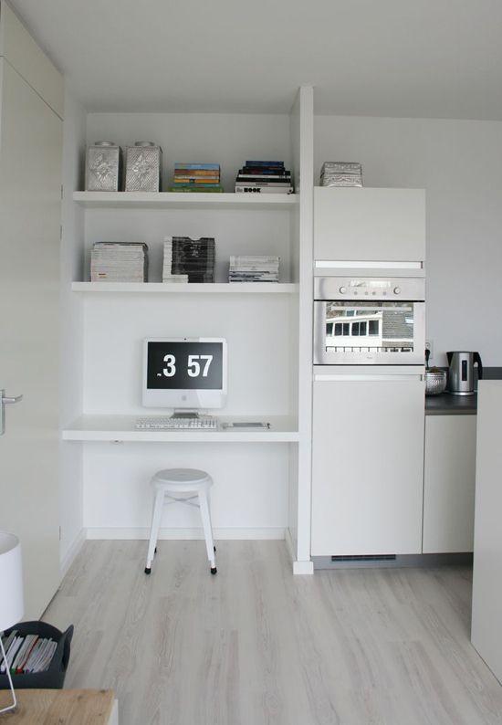 Een kleine werkplek | Wooninspiratie