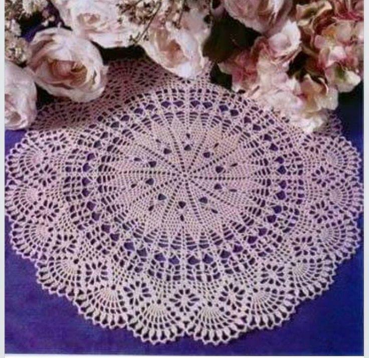 Mejores 56553 imágenes de Crochet en Pinterest | Tapetes de ...