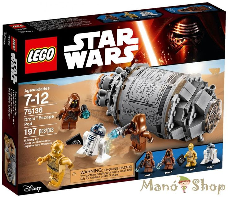 Lego Star Wars Droid™ menekülő gondola 75136