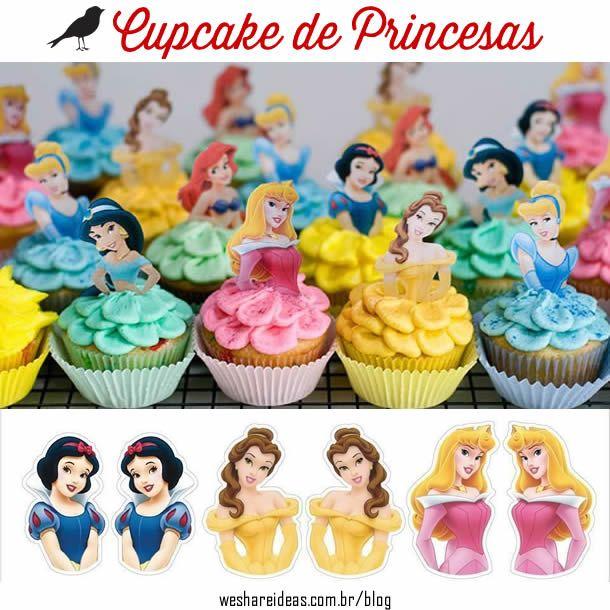 5 DIYs para Festas Princesas, decoração festa infantil, festa princesas, princess party, disney princess