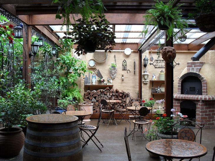 Garden Tuscany Moonee Ponds Italian Restaurant Garden