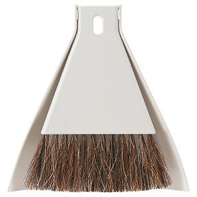 Table hand broom and dustpan by Muji