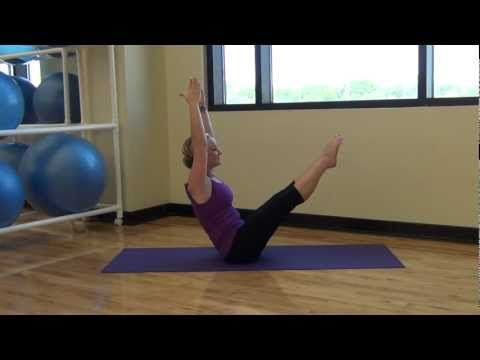 Flat Pilates Abs #7 Five Foot Fitness