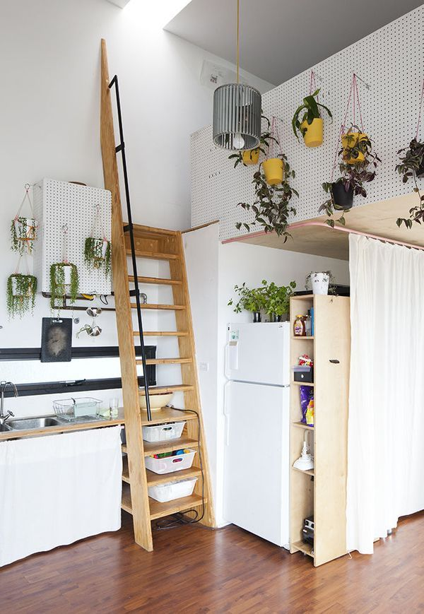 Hanging Plants Small Kitchen Storage Solutions Looking