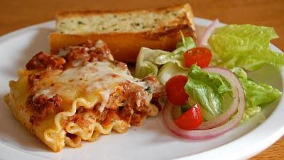 Classic Lasagna Rolls.... omg they were amazing!