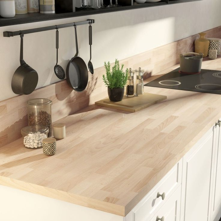 186 best Déco images on Pinterest Kitchen ideas, Alps and Apartments - fixer plan de travail cuisine