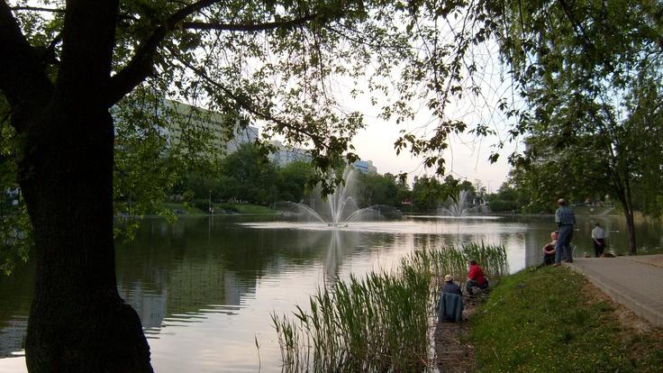 Park przy Balatone - Bydgoszcz, Poland