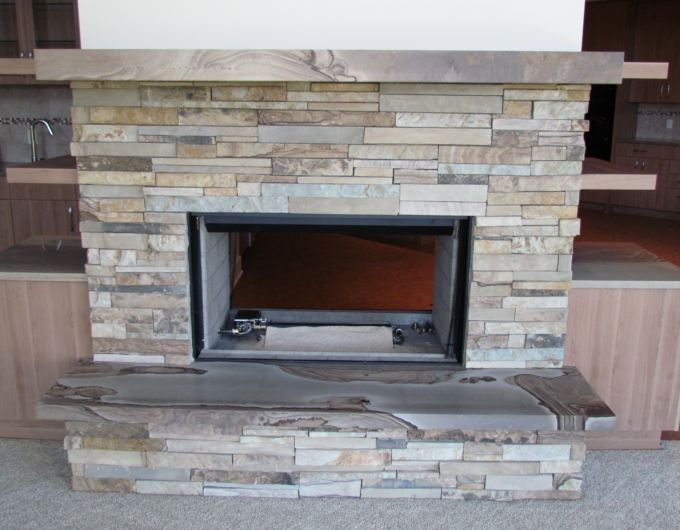 Refacing A Fireplace With Veneer refacing a fireplace