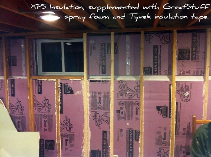How to Install XPS (extruded polystyrene) foam-board insulation. Score-and-snap, no vapor barrier - it is not too difficult. XPS insulation has a lot to offer: click-thru to read about its specifications and installation instructions.