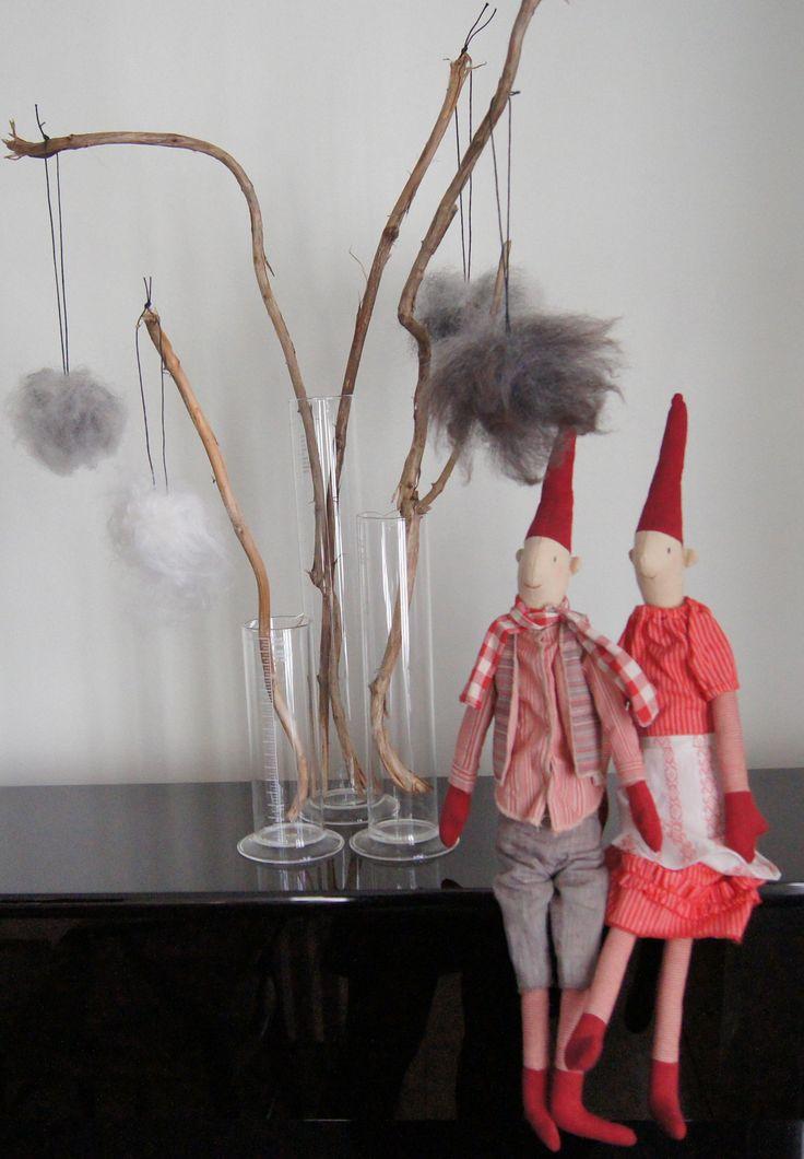 #gråskind #danskdesign #lammeskind #hygge #julepynt #skindjulepynt #socialøkonomi #bolig #interiør #gaver #jul