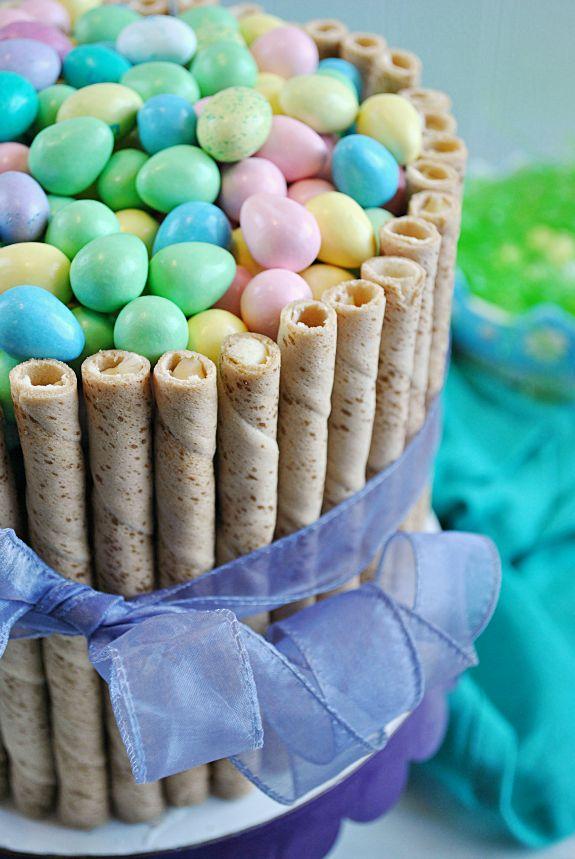 30 minutes Easter Basket Cake! #yearofcelebrations #easter