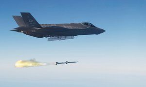 'The F-35 fighter plane program is a prime candidate for big cuts. It's the most expensive weapon ever designed, complete with massive cost overruns.'