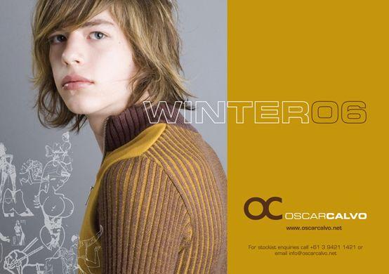 OC OSCARCALVO   WINTER 2006 AD #oscarcalvo #menswear #mensclothing #mensfashion
