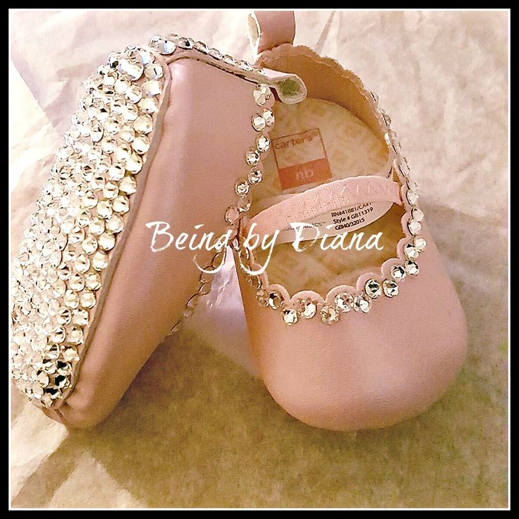 Baby Girl Mary Jane Crib Shoes with Swarovski Crystals by BeingByDiana on Etsy https://www.etsy.com/listing/489229345/baby-girl-mary-jane-crib-shoes-with