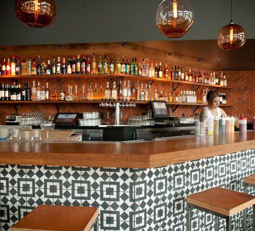 Corazón, a Mexican restaurant in Portland, Oregon. Designer Jessica Helgerson. Photo, Dina Avila.