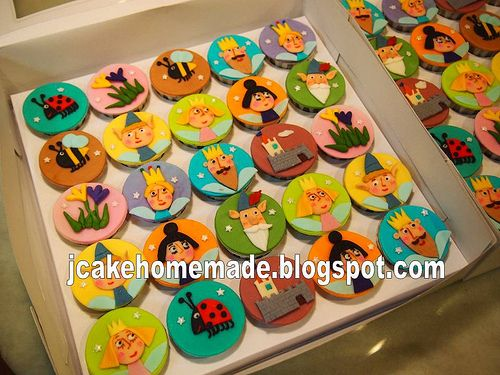 The most amazing array of cupcake (or cookie) toppers.