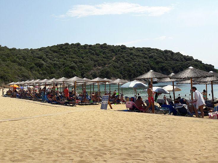 Karagatsi Beach Ammouliani island #Halkidiki #Greece #beach