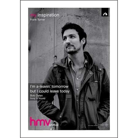 Frank Turner - hmv 'My Inspiration'