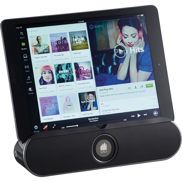 Offering great sound and functionality. The stand function allows for different viewing angles and offers amplified sound while trying to watch a movie on your tablet or smartphone. The mobile answering system offers great sound and functionality, answer a call with hands free technology.