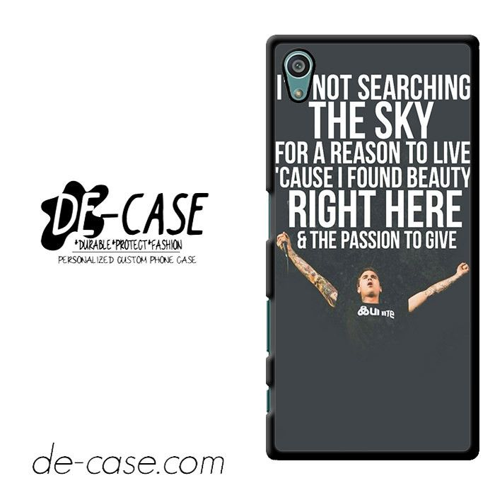 Amity Affliction Imnot Searching The Sky DEAL-736 Sony Phonecase Cover For Xperia Z5