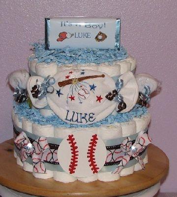 Baseball-Dipaer-Cake.JPG - Baseball Theme