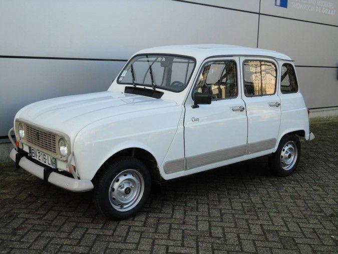 Te koop Renault R4GTL Clan 1991 - Prachtige klassieke auto, Renault R4GTL Clan - oldtimers en youngtimers in perfecte staat!
