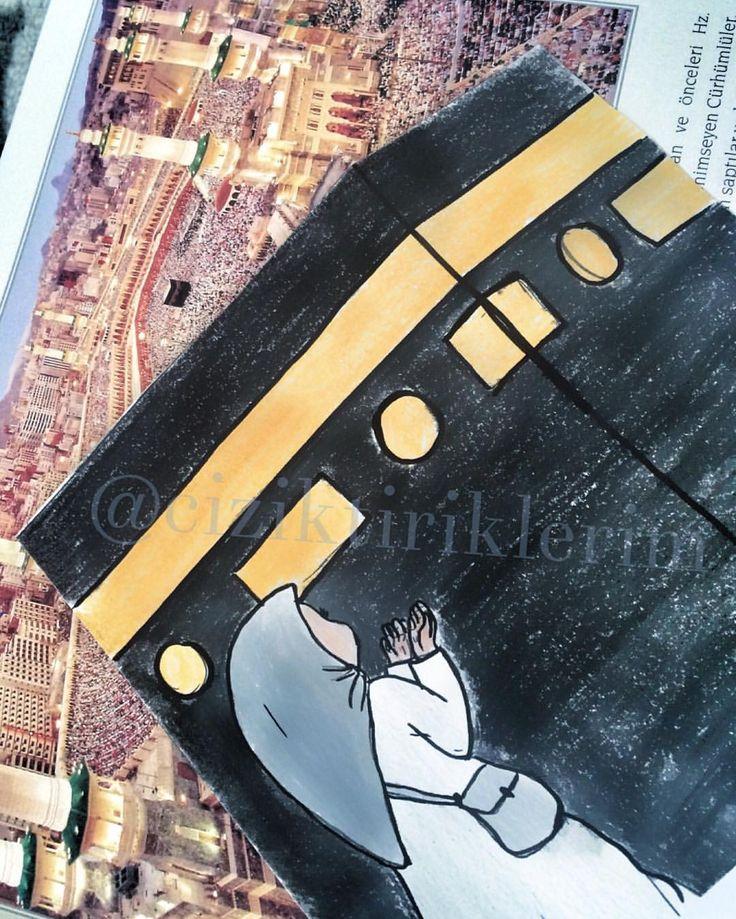 Rabbim ibadetlerini ve dualarını kabul etsin.. Canım annem babam kutsal topraklarda .. # # #çizim #illustrasyon #illustration #ciziktiriklerim #illüstrasyon  #resim #myart #drawing #sketching  #instaart  #watercolor #painting  #music #muzik #instaartist #art #cartoonarts  #artoftheday #instadraw #instaartist #makkah #hajj