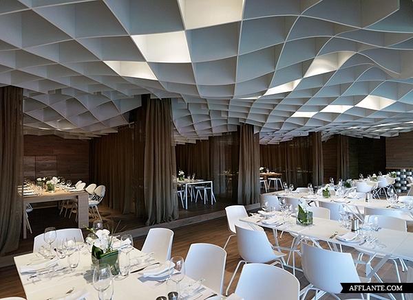 V'ammos Restaurant at Karaiskakis Stadium // LM Architects