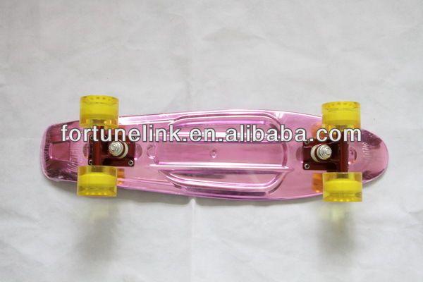 fish plastic skateboard mini penny board price in low mini penny skate (FL-2206ADL) $1~$15