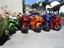 Kawasaki zx7r's and zx6r's