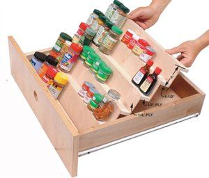 Best 25 spice drawer ideas on pinterest spice rack organization kitchen spice storage and - Basic kitchen upgrades to liven up your kitchen ...