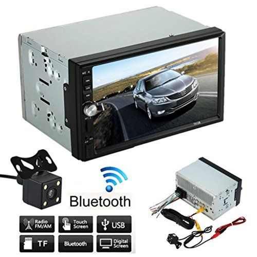 """7"""" HD Touch screen Car Stereo Receiver, Lary intel Double 2 Din Car Stereo MP5 MP4 MP3 Player FM Radio Bluetooth USB AUX + Parking Camera - http://www.caraccessoriesonlinemarket.com/7-hd-touch-screen-car-stereo-receiver-lary-intel-double-2-din-car-stereo-mp5-mp4-mp3-player-fm-radio-bluetooth-usb-aux-parking-camera/  #Bluetooth, #Camera, #Double, #Intel, #Lary, #Parking, #Player, #Radio, #Receiver, #Screen, #Stereo, #Touch #Car-Stereos, #Electronics"""