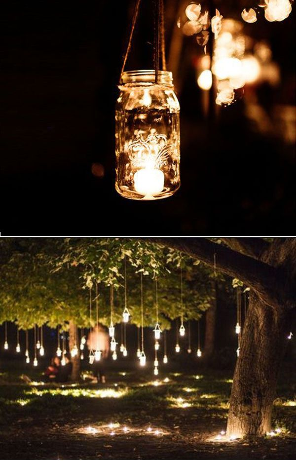 diy wedding reception lighting. 25 Cheap And Simple DIY Wedding Decorations Diy Reception Lighting Pinterest