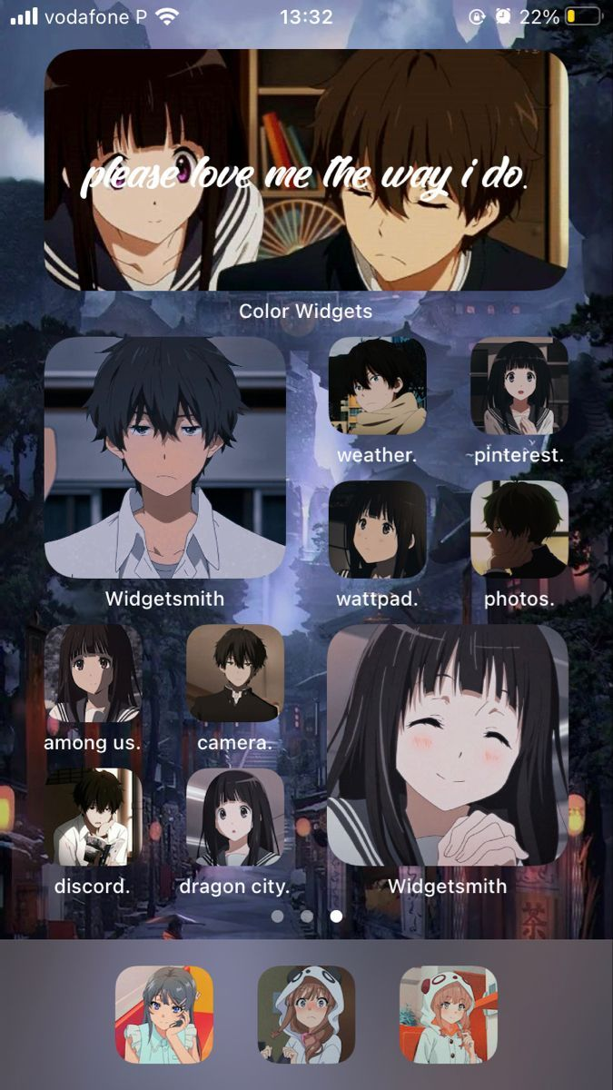 Homescreen Hyouka Homescreen Homescreen Iphone Anime Wallpaper Iphone In 2021 Anime Wallpaper Iphone Anime Homescreen Anime 13 anime phone wallpapers