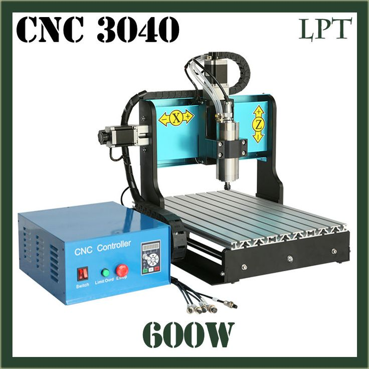 JFT Good Price 3 Axis 600W Metal Engraving Machine with Parallel Port Micro Drilling Machine with Water Tank 3040 #Affiliate