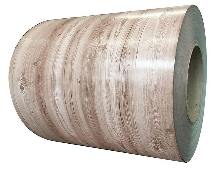 Prime wood color steel manufacturer in china Part No. WF-WOOD0307