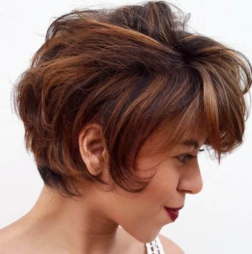906 Best Images About Hairstyles On Pinterest Short Curly Hairstyles Thick Hair And Layered Bobs