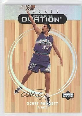 1999-00 Upper Deck Ovation Standing #87 Scott Padgett Utah Jazz Basketball Card
